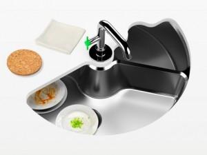 съдомиялна машина и въртящя се мивка