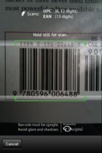 ето как се сканира баркод