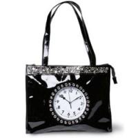 Дамска чанта с часовник