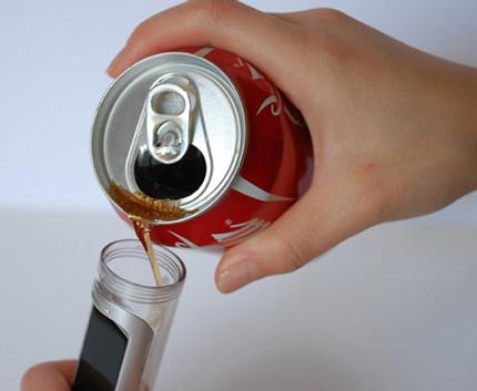 батерия от coca-cola