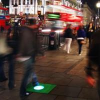 Еко енергия добивана чрез тротоарни плочки