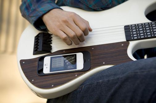Китара с iPhone