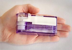 Компактен инсулинов инхалатор